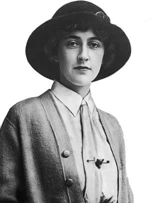 A young Agatha Christie